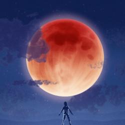 Eclipsa de luna din ianuarie 2018 – Luna sangerie albastra