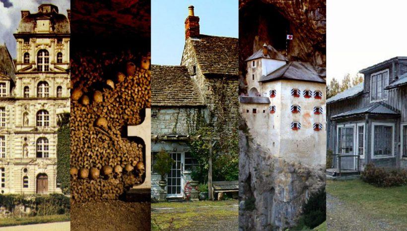 5 cele mai bantuite locuri din Europa